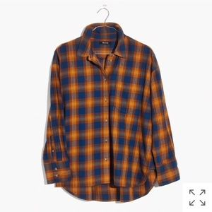 Westward Shirt in Arden Plaid